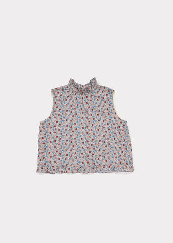 CARAMEL Chilika Top - Liberty Bramble