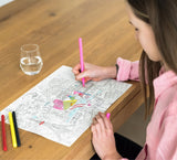 OMY City Map Paper Placemats
