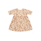 Rylee and Cru Leafy Dress - Blush