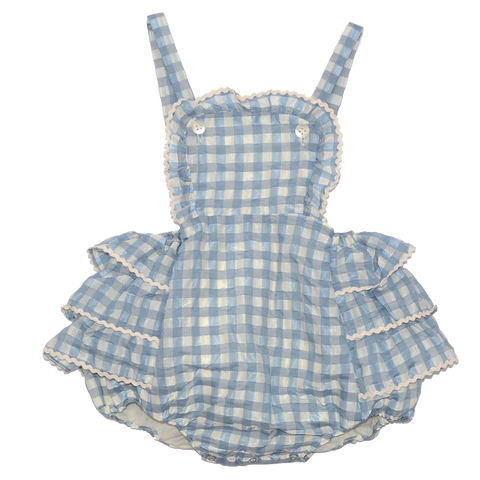 CARAMEL Boon Baby Romper - Pale Blue