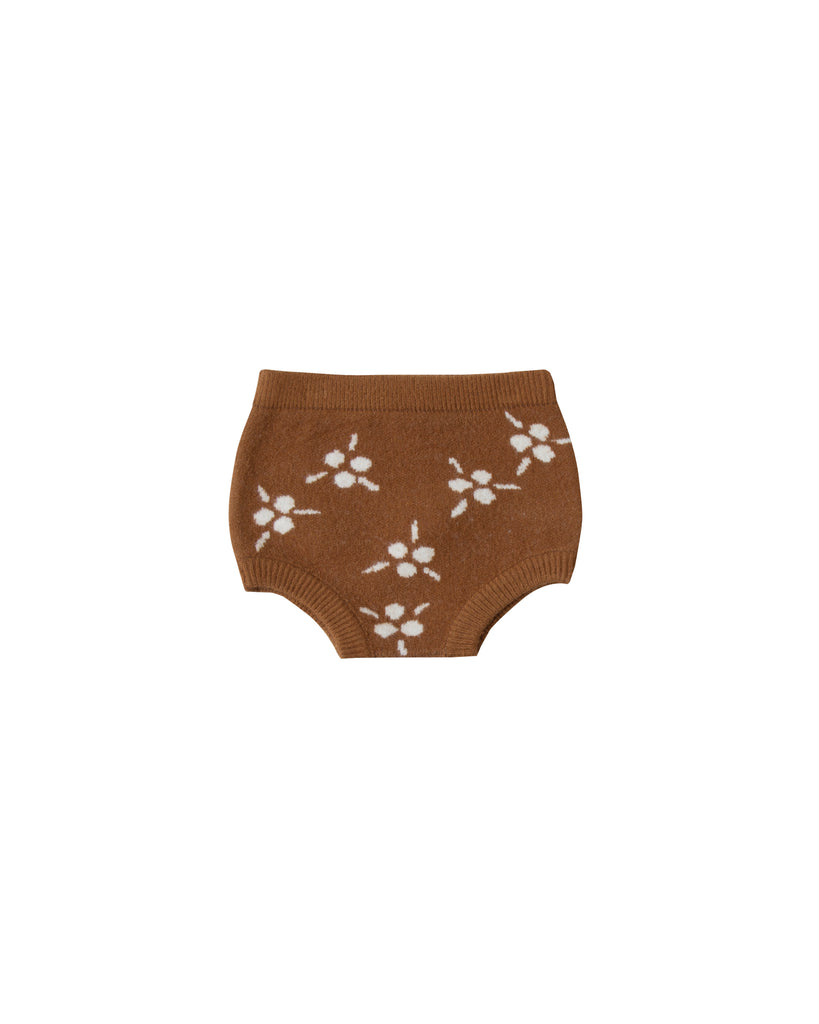 Rylee and Cru Knit Bloomers - Saddle Berry Jacquard