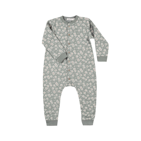 Rylee and Cru Winter Floral Longsleeve Jumpsuit