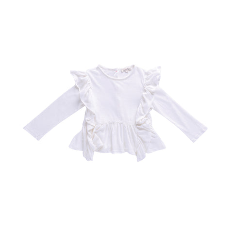Louise Misha Top Dolores - White