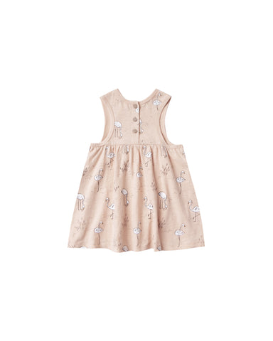 Rylee and Cru Layla Mini Dress - Flamingo