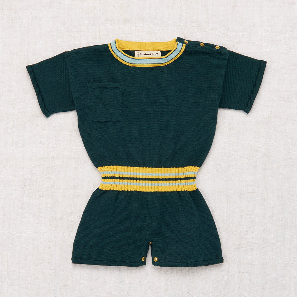 Misha & Puff Field Day Playsuit - Spruce
