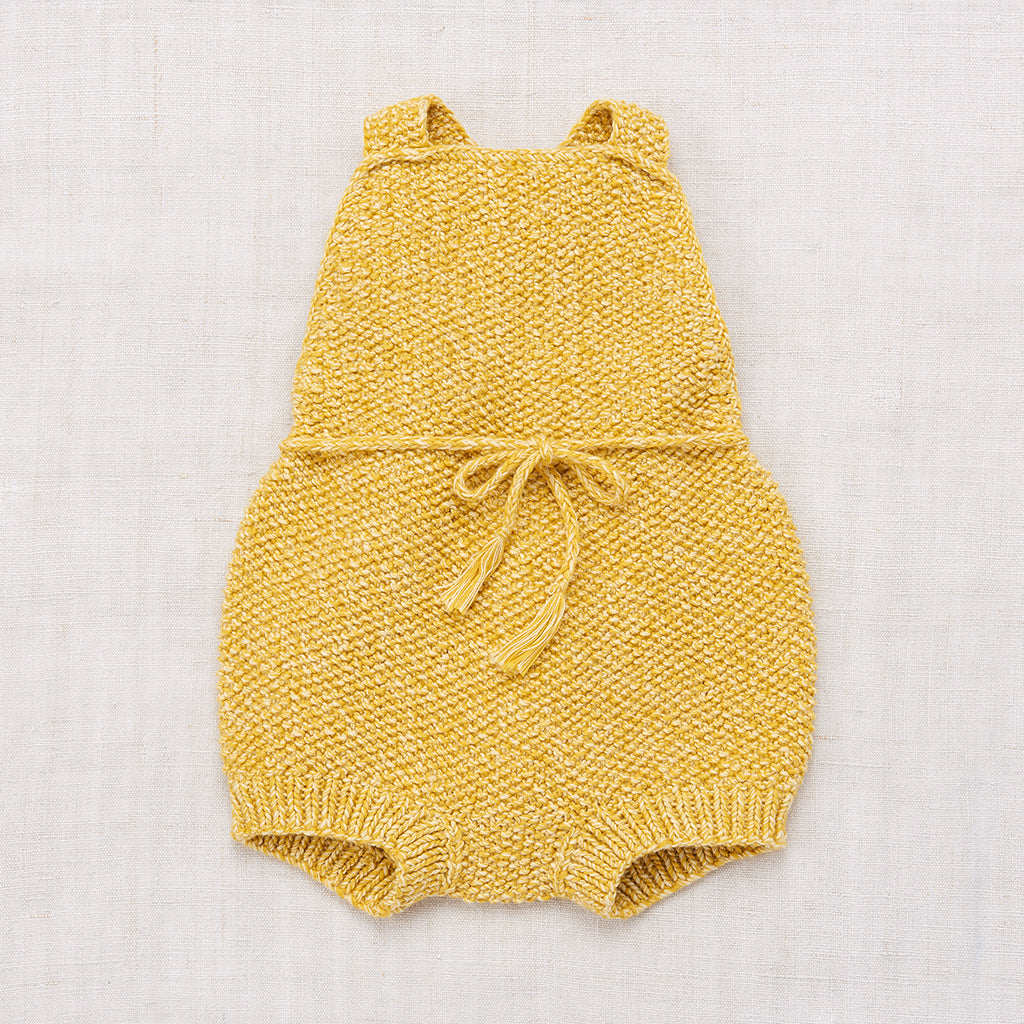 Misha & Puff Starfish Sunsuit - Sunshine