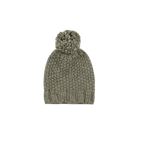 Rylee and Cru Nubby Knit Beanie - Moss