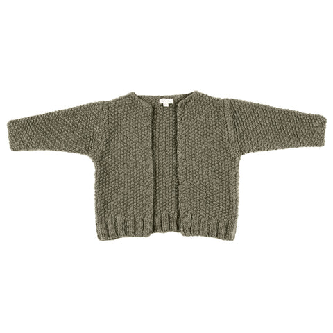 Rylee and Cru Nubby Knit Cardigan - Moss