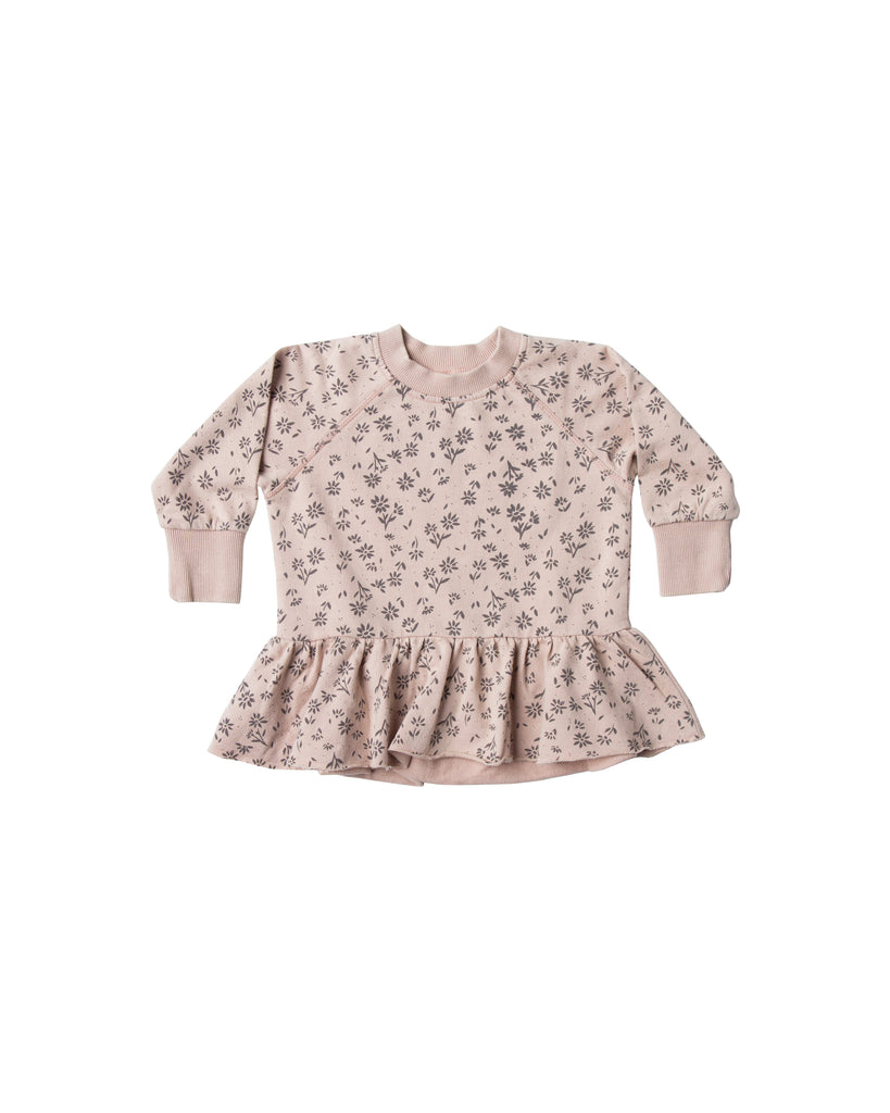 Rylee and Cru Peplum Sweater - Blossom