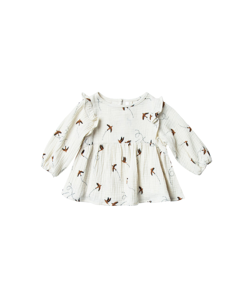Rylee and Cru Piper Blouse - Sparrow