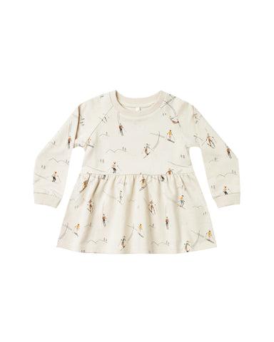 Rylee and Cru Raglan Dress - Ski
