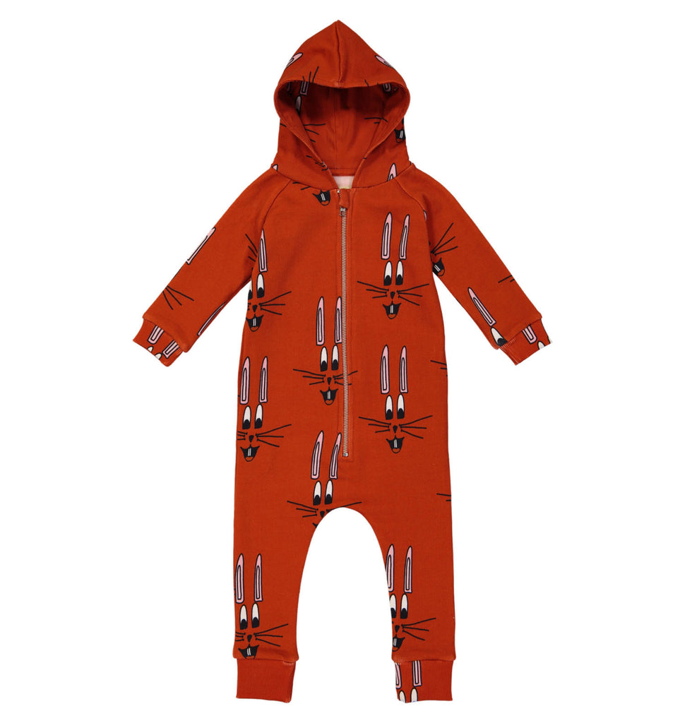 Hugo Loves Tiki Jumpsuit - Red Bunny
