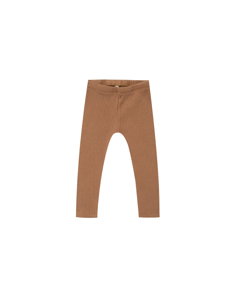 Rylee and Cru Ribbed Leggings - Caramel