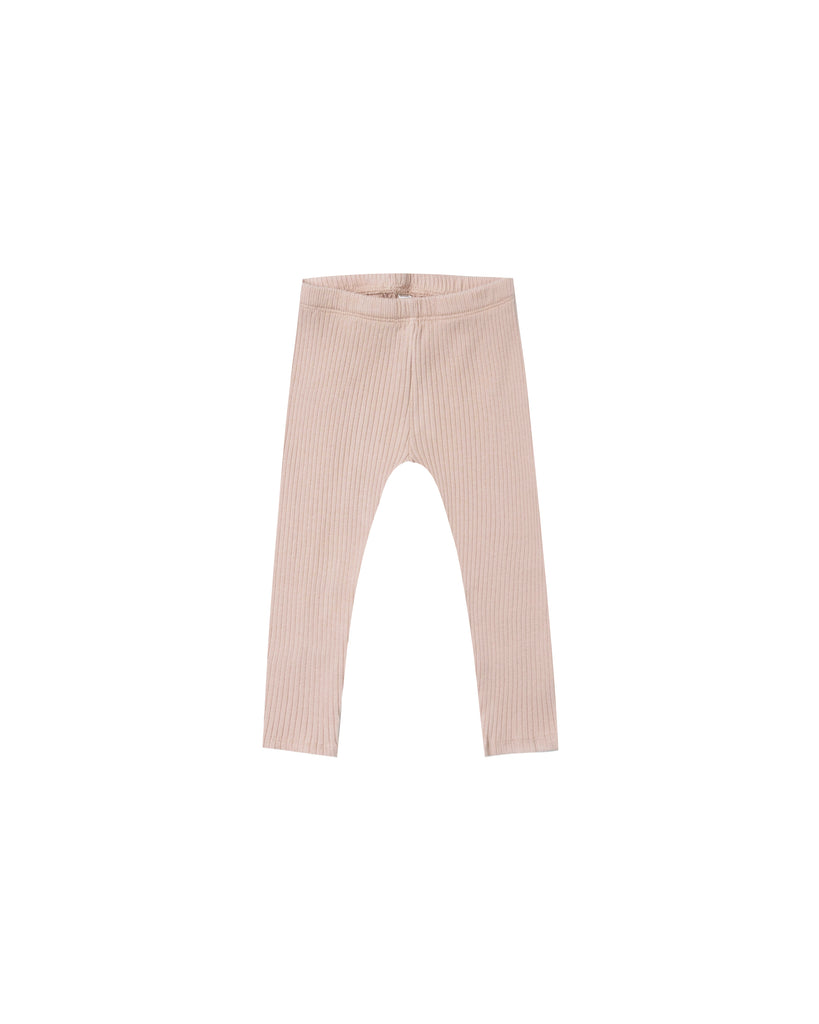 Rylee and Cru Ribbed Leggings - Rose