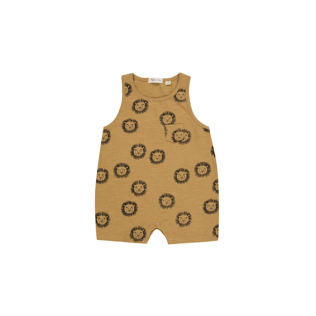 Rylee and Cru Romper - Lions