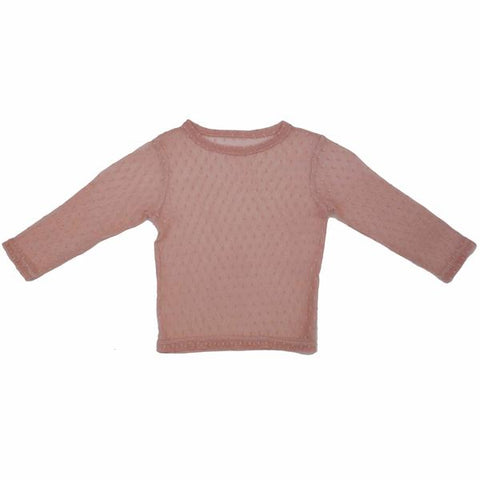 PAUSH Mesh Top - Rose