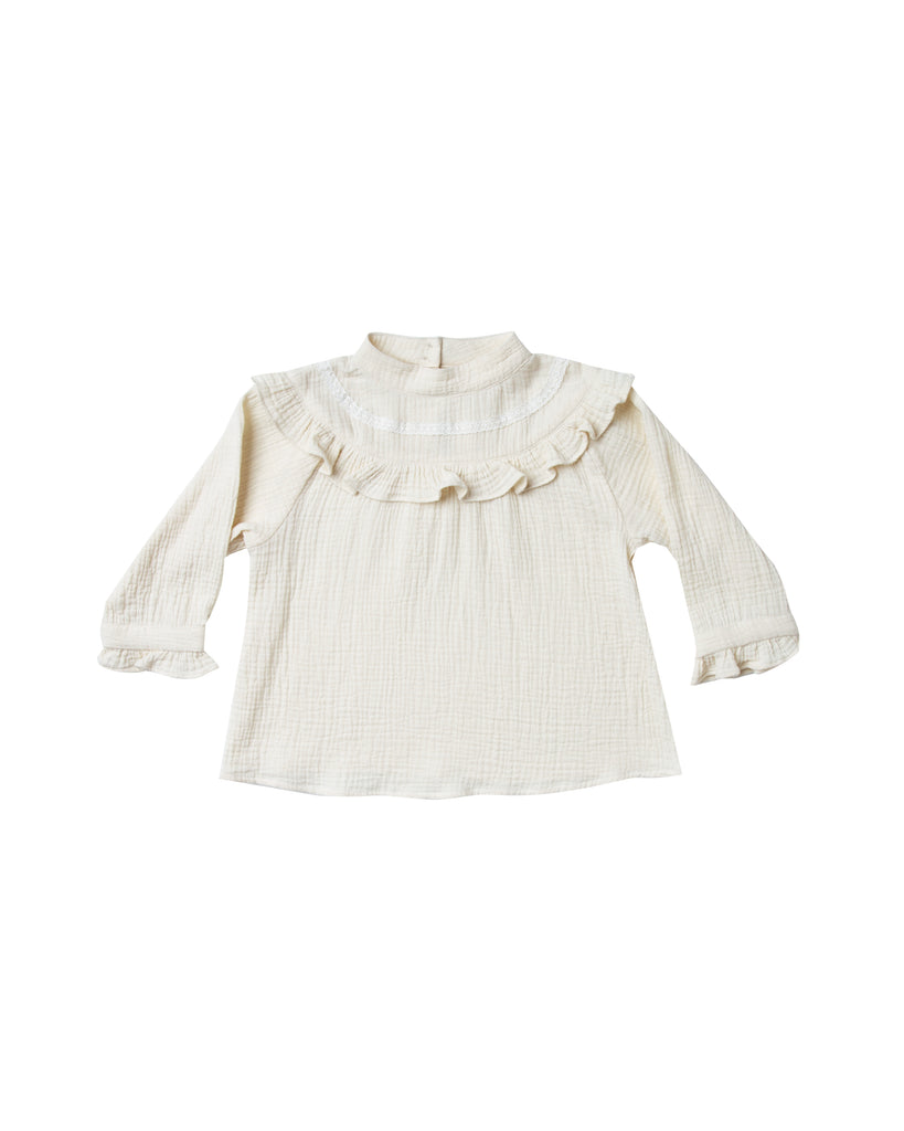 Rylee and Cru Savannah Blouse - Ivory