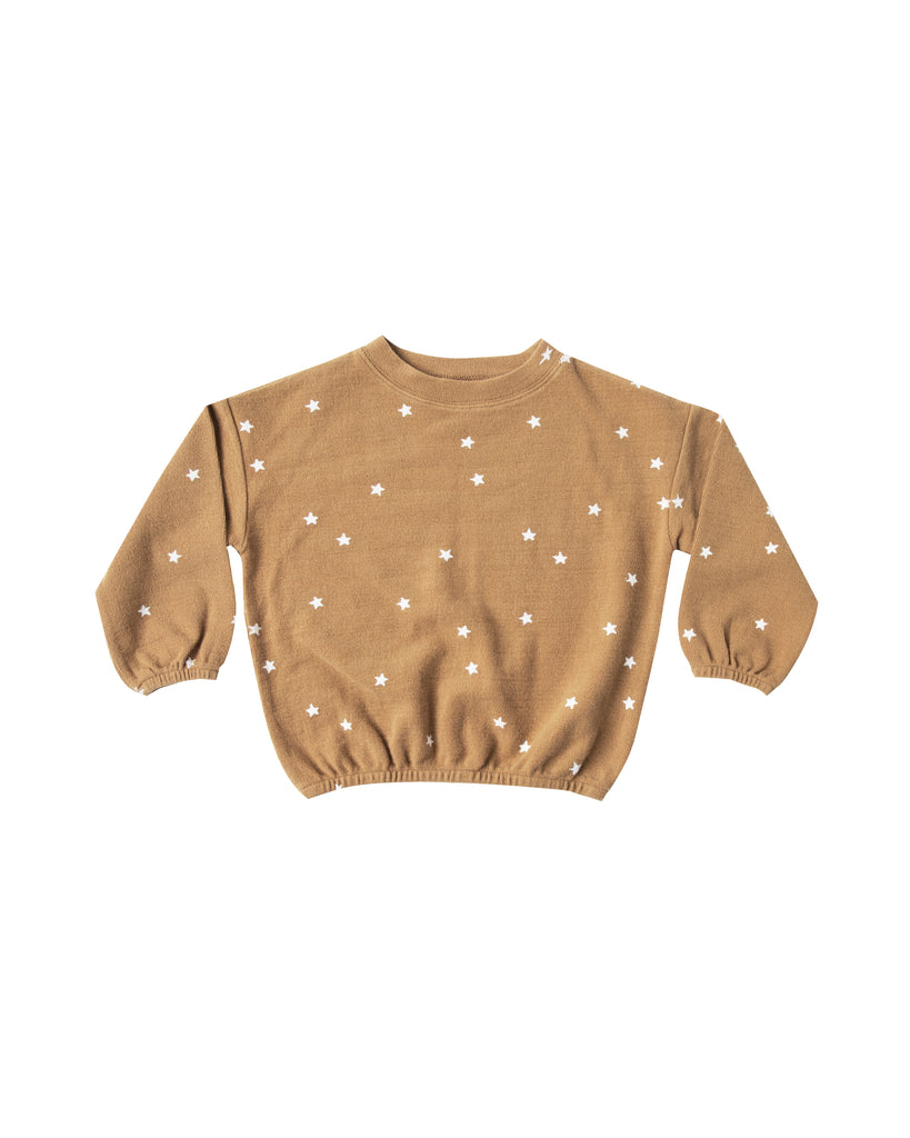 Rylee and Cru Slouchy Pullover - Stars