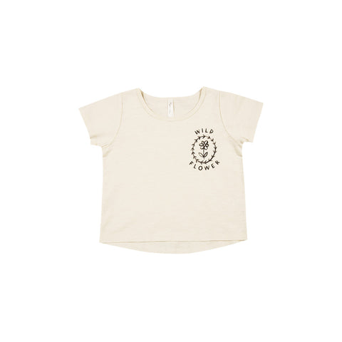 Rylee and Cru Basic Tee - Wild Flower