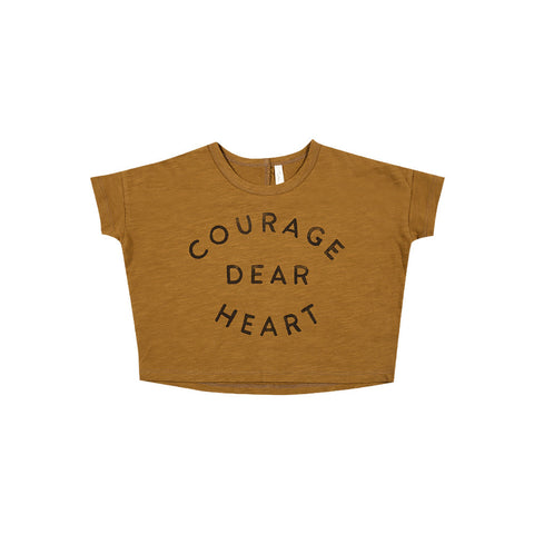 Rylee and Cru Boxy Tee - Courage