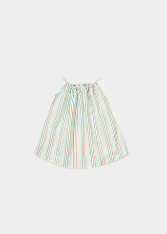 CARAMEL Windermere Baby Dress - Multi Stripe