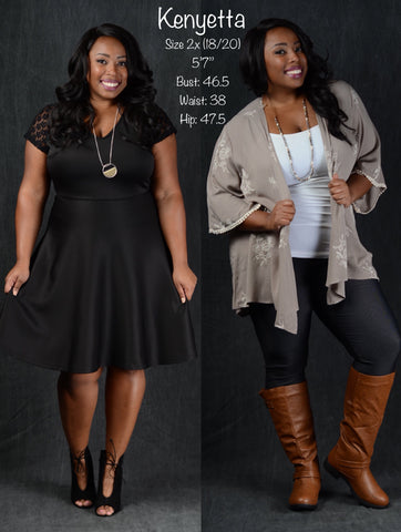 Plus Size Shopping Curvy Boutique 1x 2x 3x 4x 5x 6x