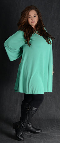 Mint Swing Corset Dress