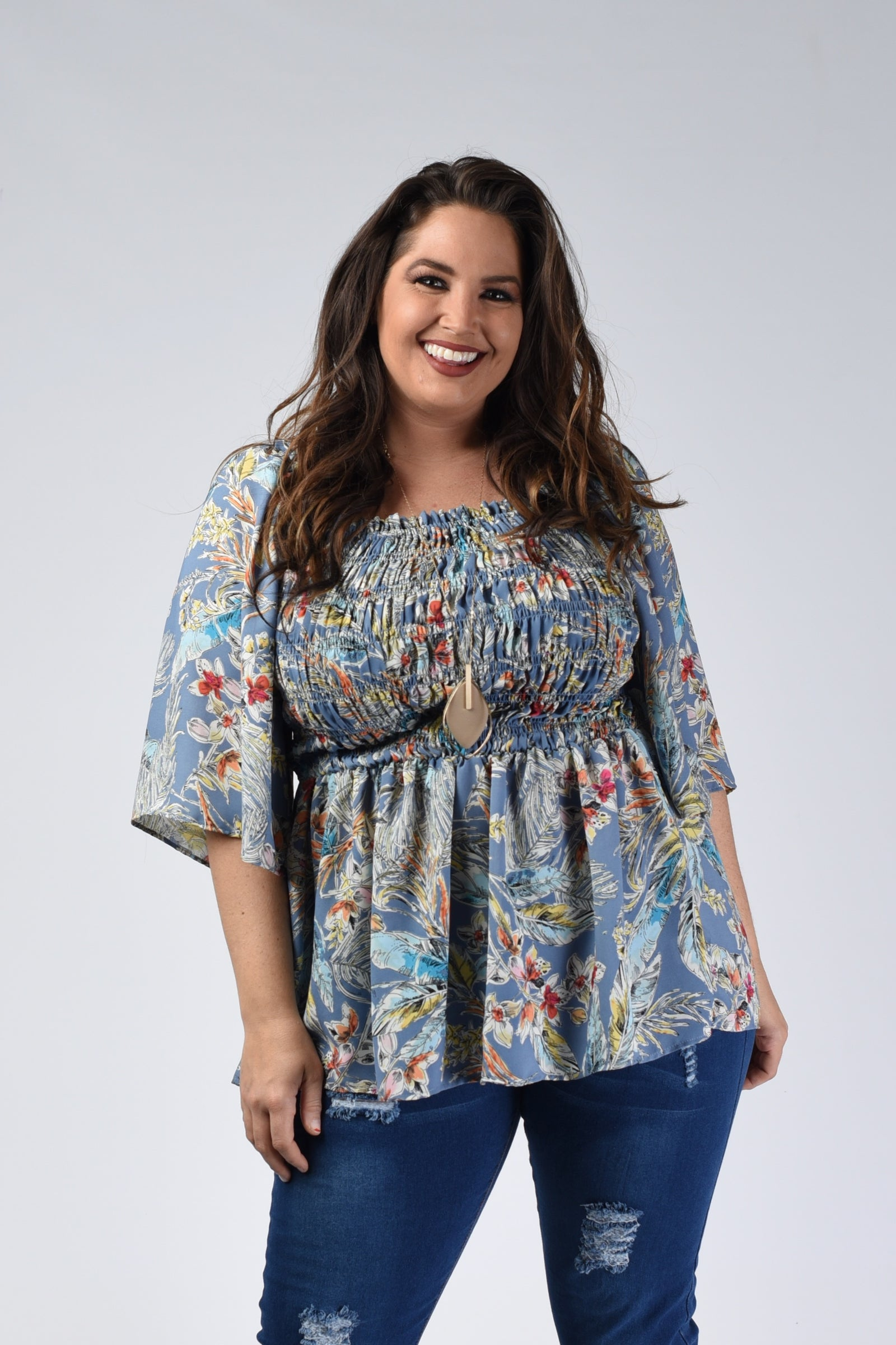 Buffalo Plaid Print Dress