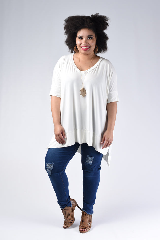 Adore Me Top, Ivory