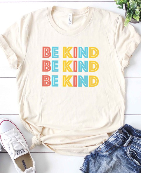 'Be Kind' Tee - www.mycurvystore.com - Curvy Boutique - Plus Size