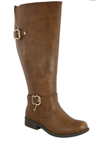 Layla Brown Boot - Wide Calf - www.mycurvystore.com - Curvy Boutique - Plus Size