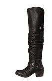 Carlos Santana- Over the Knee Black Boots - Curvy Plus Size Boutique - 2