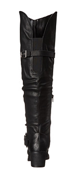 Carlos Santana- Over the Knee Black Boots - Curvy Plus Size Boutique - 4