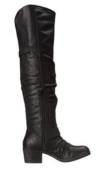 Carlos Santana- Over the Knee Black Boots - Curvy Plus Size Boutique - 3