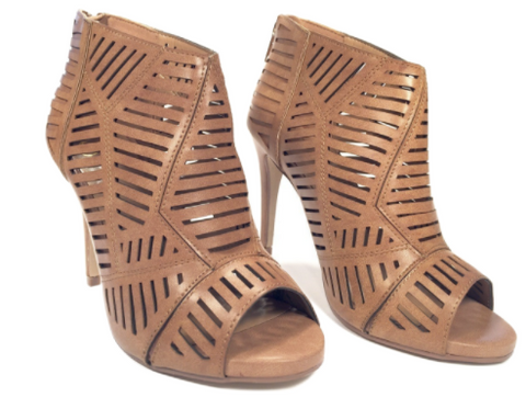 Tan Slouchy Buckle Boots - Wide Calf