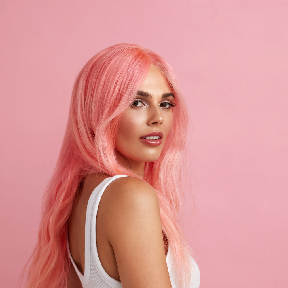 Hair colour trends you can do at home: Pastel pink