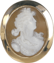 Carved shell cameo - ORIGINAL PRICE $950