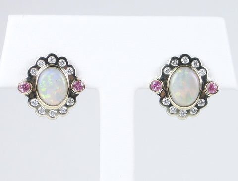 Opals and diamonds and tourmalines