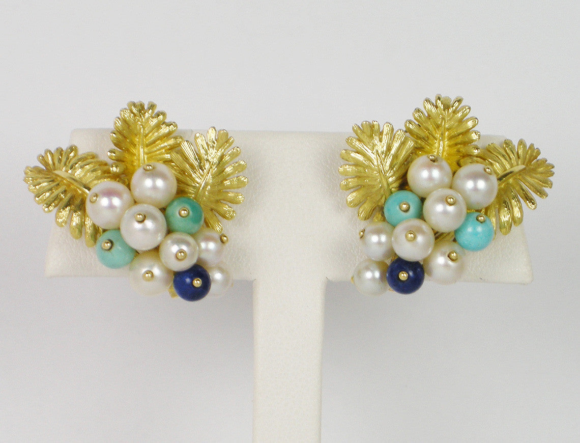 Vintage clipback earrings