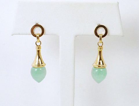 Aventurine teardrops by Links of London
