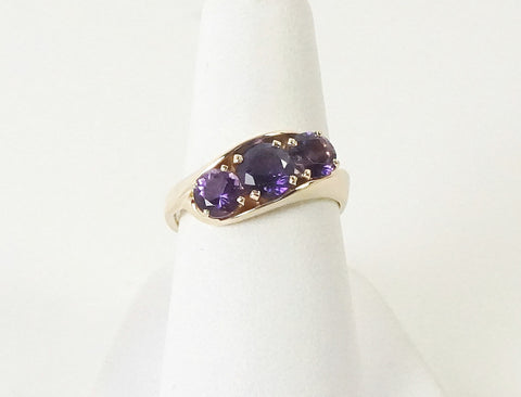 Custom amethyst ring by Fidge
