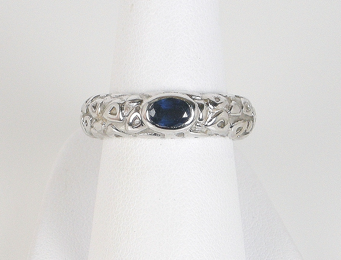 Sapphire ring by Chaumet, Paris