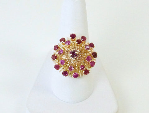 "Ruby ""Princess"" style ring"