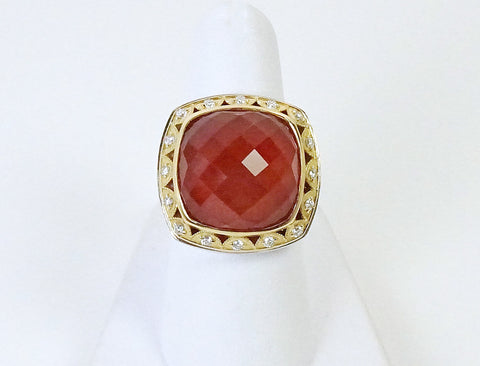 """Scarlett"" ring by Tacori"