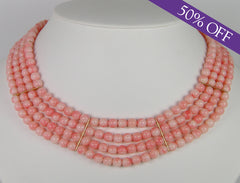 Angelskin coral choker - ORIGINAL PRICE $3200