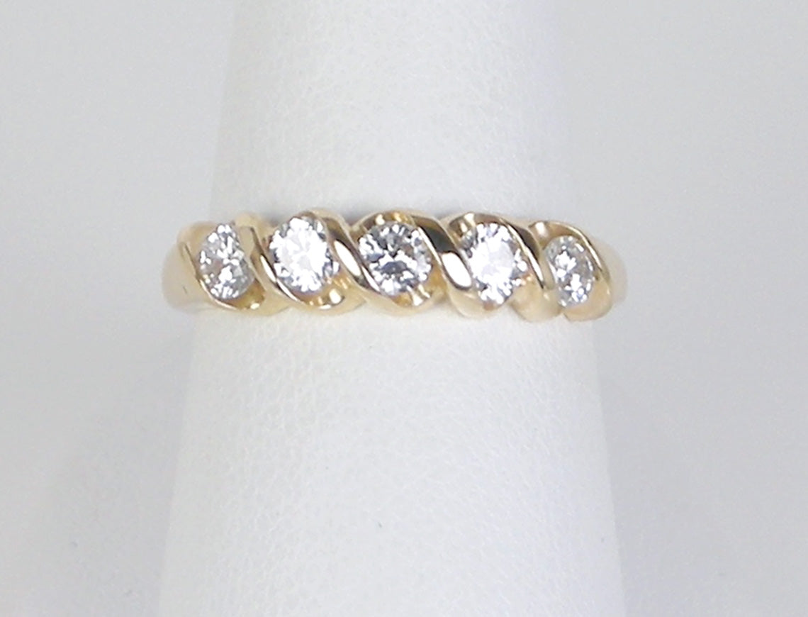 white diamonds bar nl band cut gold jewelry princess diamond with bands wg wedding fascinating in