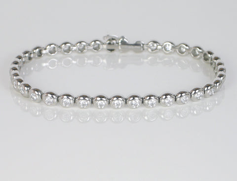 Platinum bracelet by Tiffany