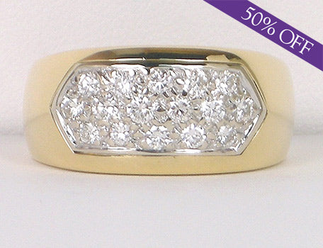 Pave diamond band - ORIGINAL PRICE - $2300