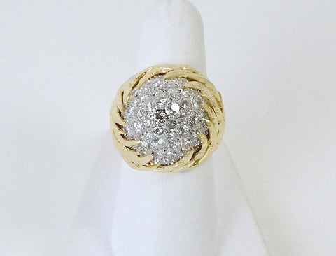 1970's cocktail ring