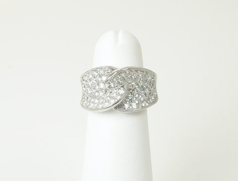 Platinum and diamond sparkler